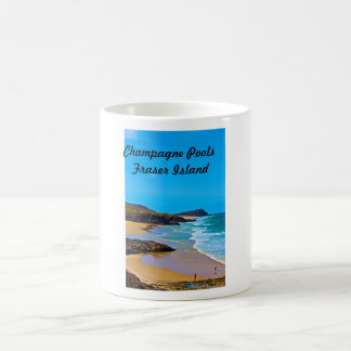 Fraser Island -champagne pools Coffee Mug