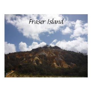 fraser island pinnacles postcard