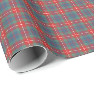 Fraser of Lovat Ancient Tartan Gift Wrap Paper