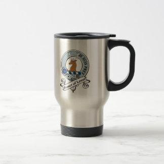 Fraser of Lovat Clan Badge Travel Mug