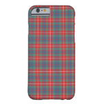 Fraser of Lovat Clan Coral and Blue Ancient Tartan Barely There iPhone 6 Case