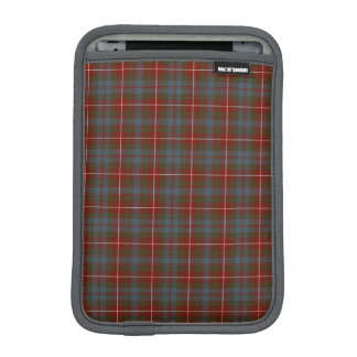 Fraser of Lovat Reproduction Tartan Dark Red Plaid Sleeve For iPad Mini