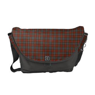 Fraser of Lovat Weathered Tartan Messenger Bag