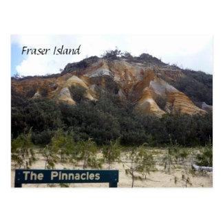 fraser pinnacle dunes postcard
