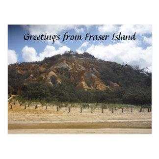 fraser pinnacle greetings postcard