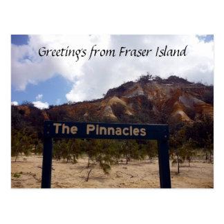 fraser pinnacles postcard