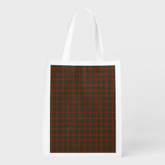 Fraser Plaid Tartan Scottish-themed Tote Grocery Bag