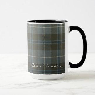 Fraser Scottish Clan Tartan Designer Mugs