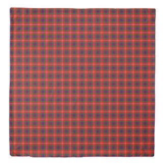 Fraser Scottish Plaid Printed Tartan Duvet Cover