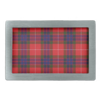 Fraser Scottish Tartan Belt Buckle