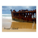 fraser ship wreck post card