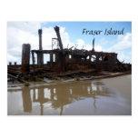 fraser shipwreck post card