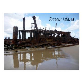 fraser shipwreck postcard