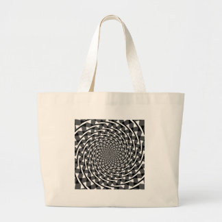 Fraser spiral illusion canvas bags