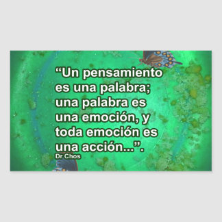 FRASES 2 PRODUCTS RECTANGLE STICKER