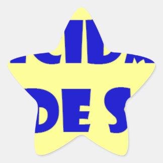 Frases master 13.09 star sticker