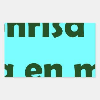 Frases master 14.05 rectangular stickers