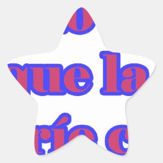 Frases master 14.07 star sticker