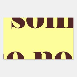 Frases master 14.08 rectangular sticker