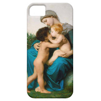 Fraternal Love, Mother with Children by Bouguereau iPhone SE/5/5s Case