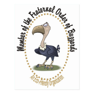 Fraternal Order of Buzzards Postcard
