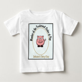 Fraternal Order of Pigs Baby T-Shirt