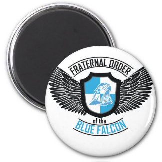 Fraternal Order of The Blue Falcon, Blue Falcon 2 Inch Round Magnet