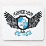 Fraternal Order of The Blue Falcon, Blue Falcon Mouse Pad