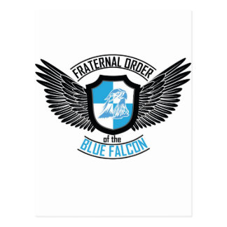 Fraternal Order of The Blue Falcon, Blue Falcon Postcard