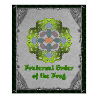 Fraternal Order of the Frog Poster
