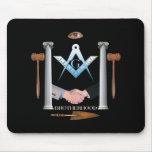 Fraternidad de Freemasons Tapete De Ratones