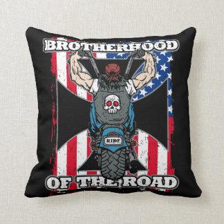 Fraternidad de los jinetes de la motocicleta del cojín
