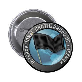 Fraternidad del botón de los Freemen Pin Redondo De 2 Pulgadas