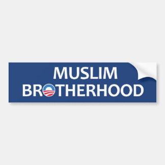 Fraternidad musulmán pegatina para auto
