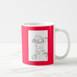 Frau(abstrakt) Mugs