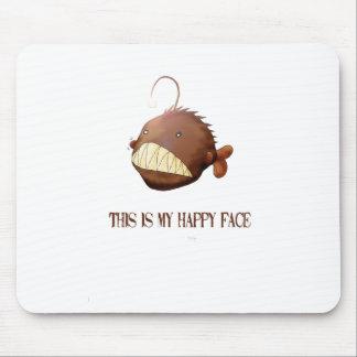 Frau Angler Mouse Pad