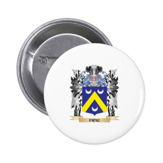 Frau Coat of Arms - Family Crest 2 Inch Round Button