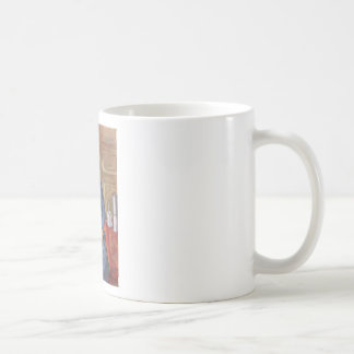 Frau mit Kaffeekanne Coffee Mugs