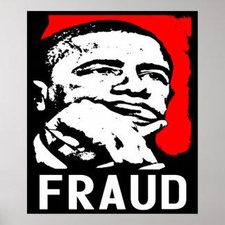 Fraude: ¡Barack Obama! Poster