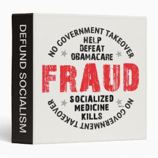 """Fraude de Obamacare Carpeta 1 1/2"""""""