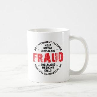 Fraude de Obamacare Taza