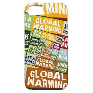 Fraude del calentamiento del planeta iPhone 5 fundas