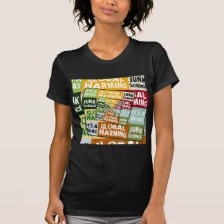 Fraude del calentamiento del planeta tee shirts