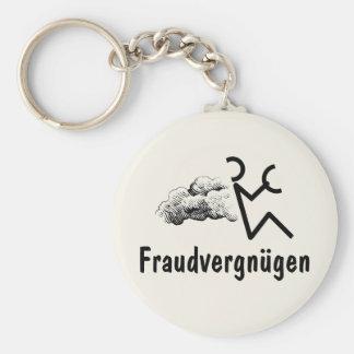 Fraudvergnügen Keychain