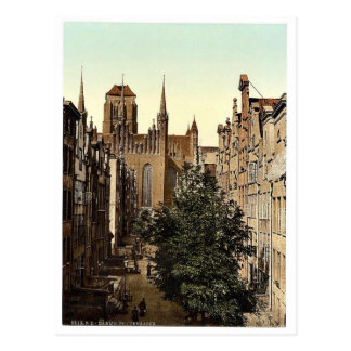 Frauengasse Danzig West Prussia Germany i e Post Cards