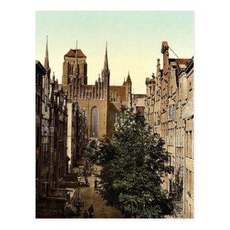 Frauengasse Danzig West Prussia Germany i e Postcards