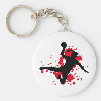 Frauenhandball handball sign keychain