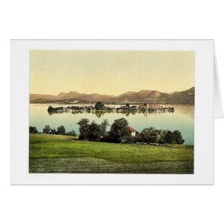 Fraueninsel, Chiemsee, vint de Baviera superior, A Tarjetón