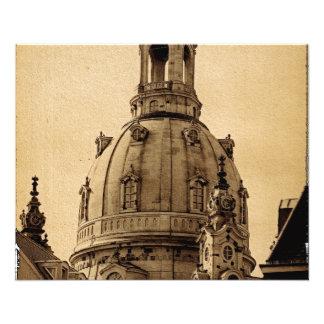 Frauenkirche Dresden - Vintage Flyer