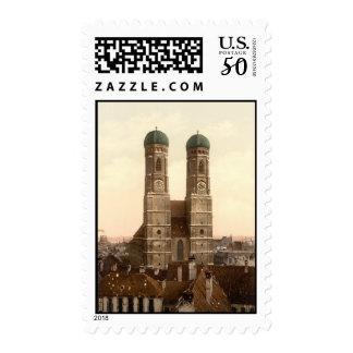 Frauenkirche, Munich, Bavaria, Germany Postage